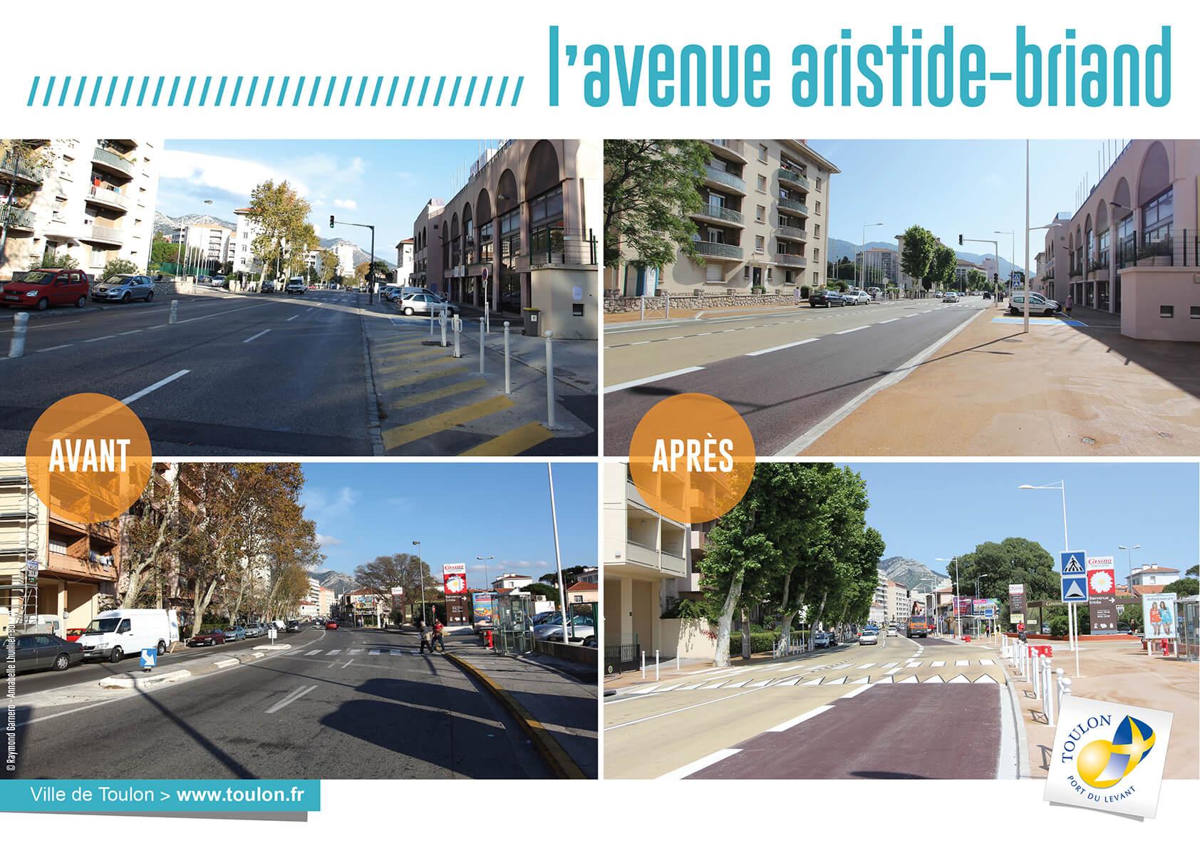 L'avenue aristide briand