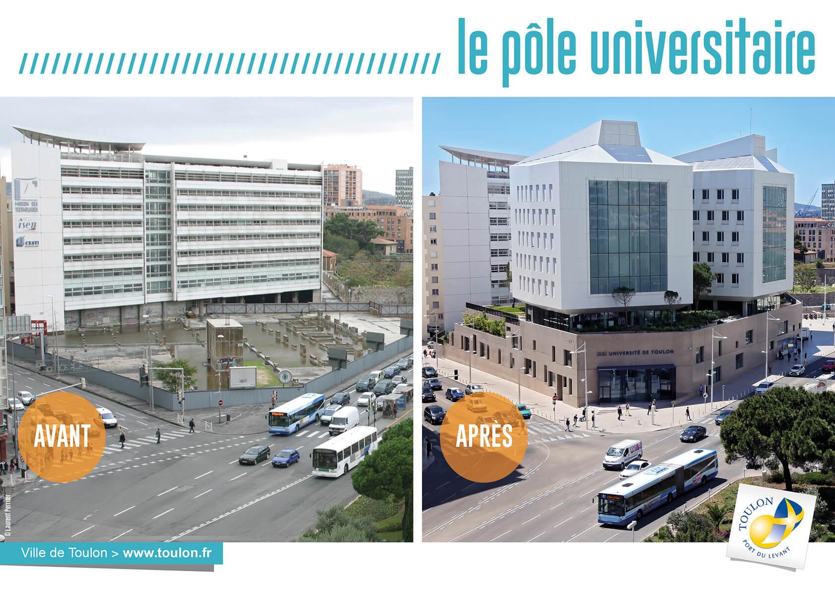 Le pôle universitaire