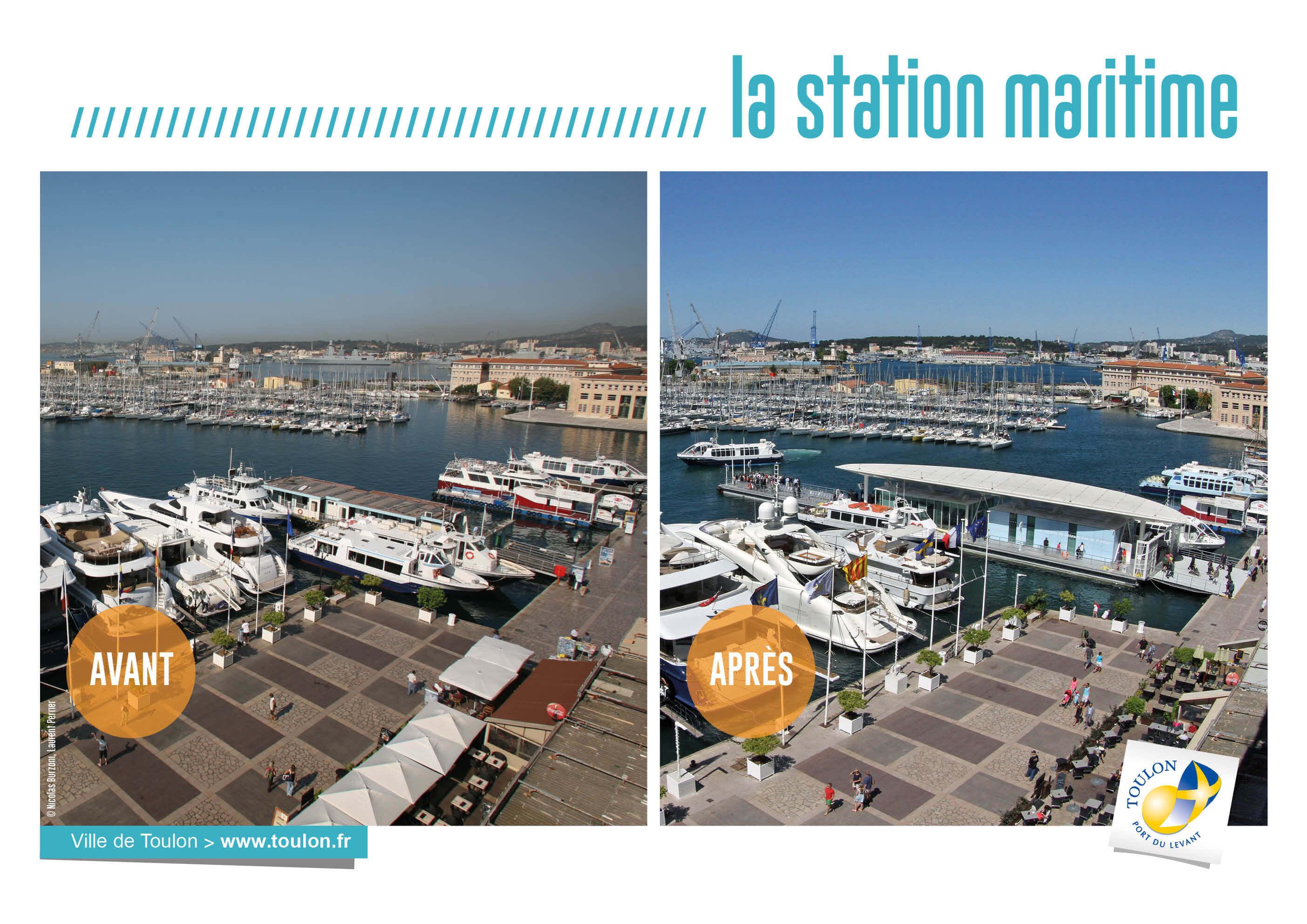 La station maritime