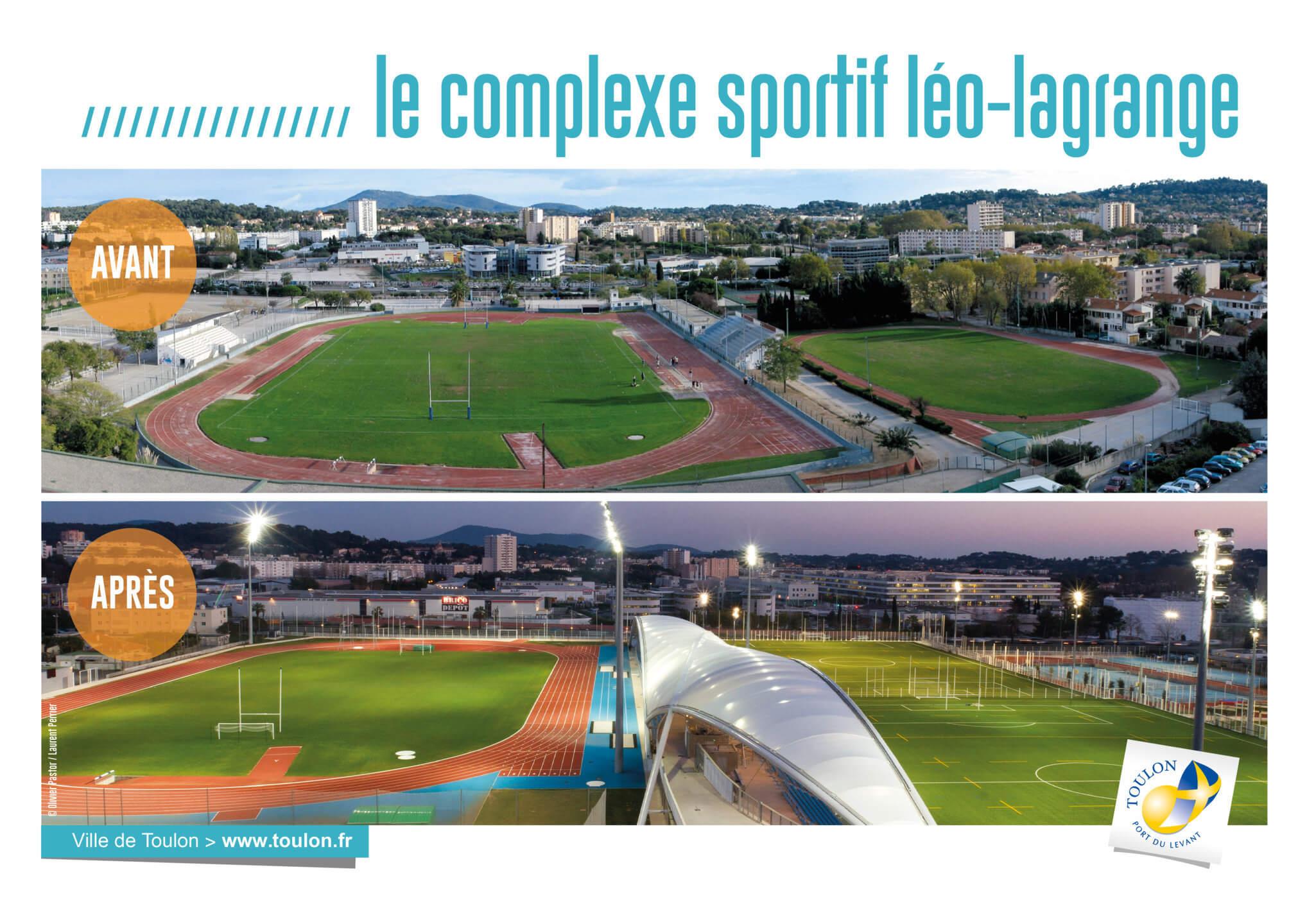 Le complexe sportif léo-lagrange
