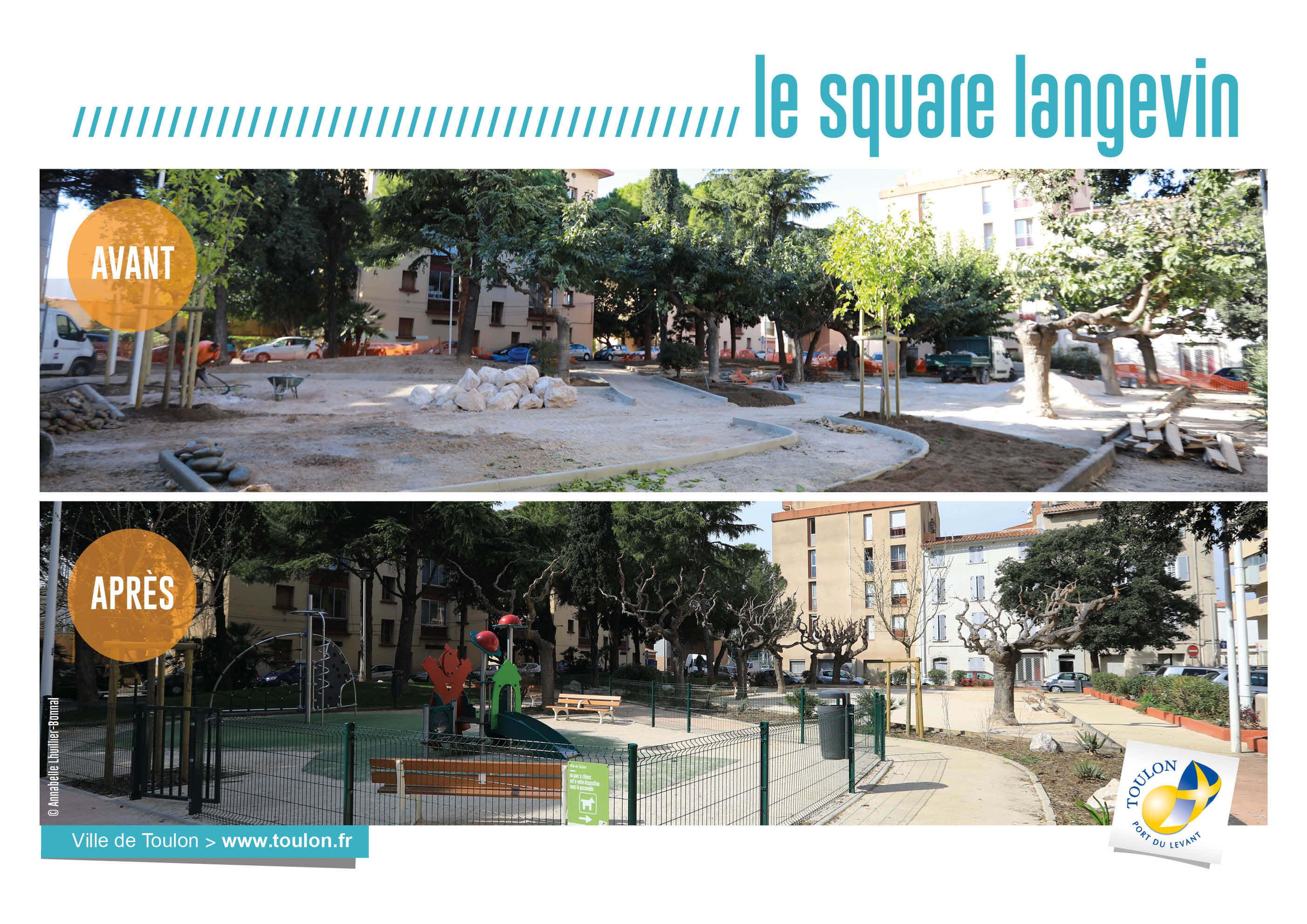 Le square de langevin
