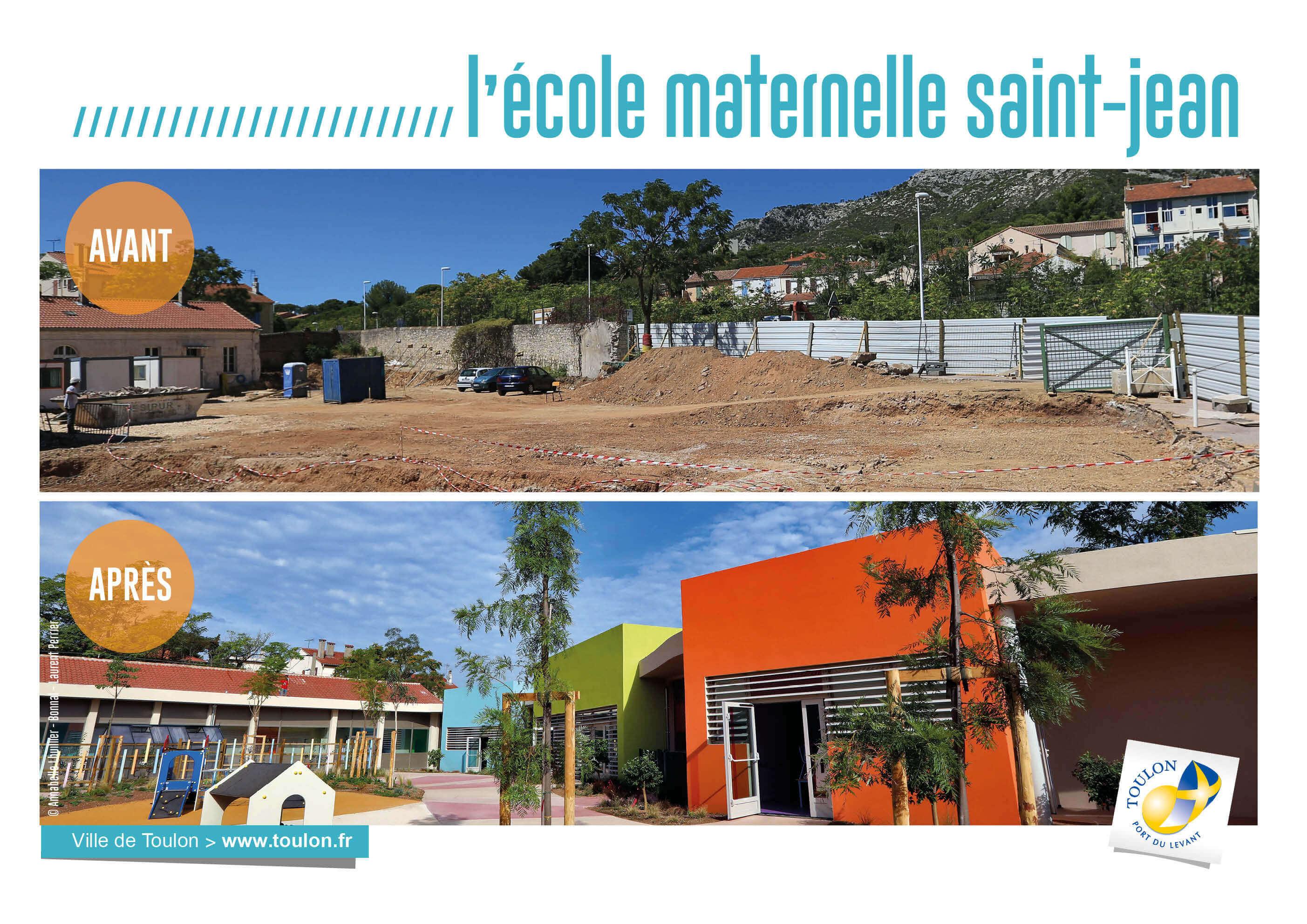 L'école maternelle de saint-jean