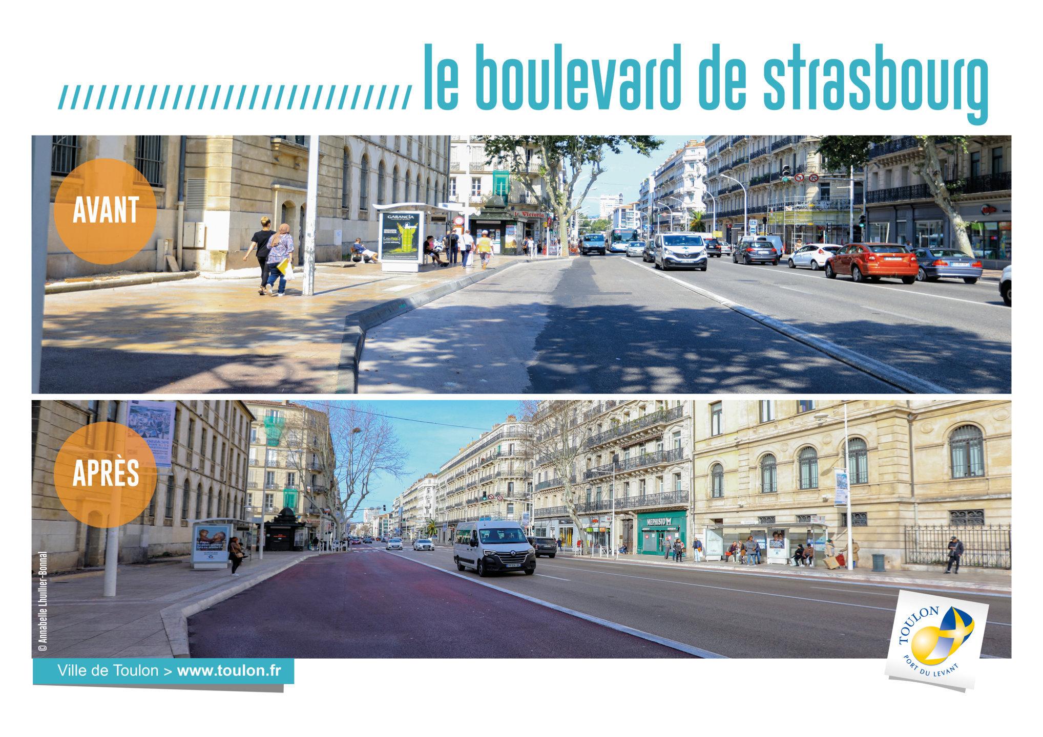 Le boulevard de Strasbourg