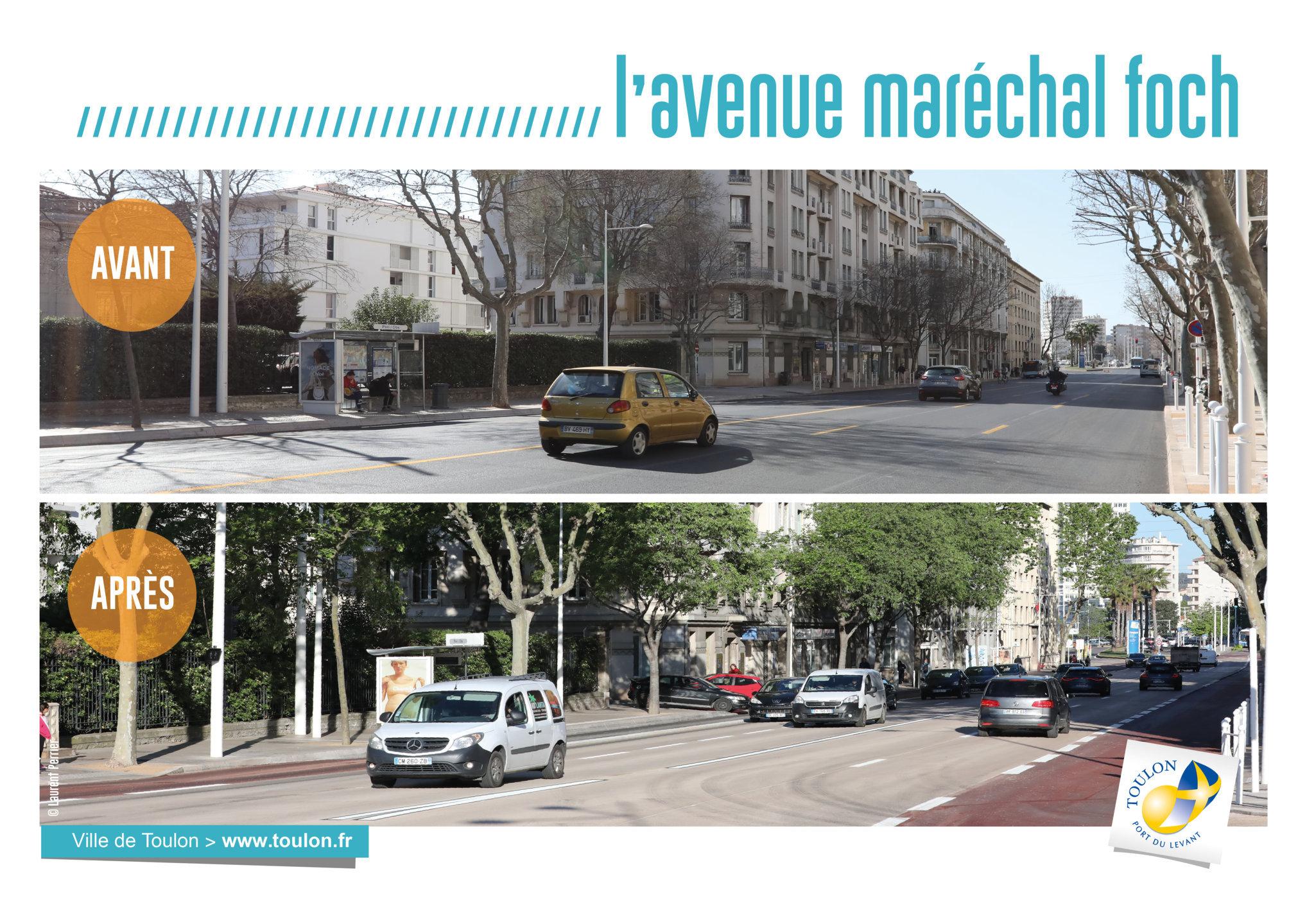 L'Avenue maréchal Foch