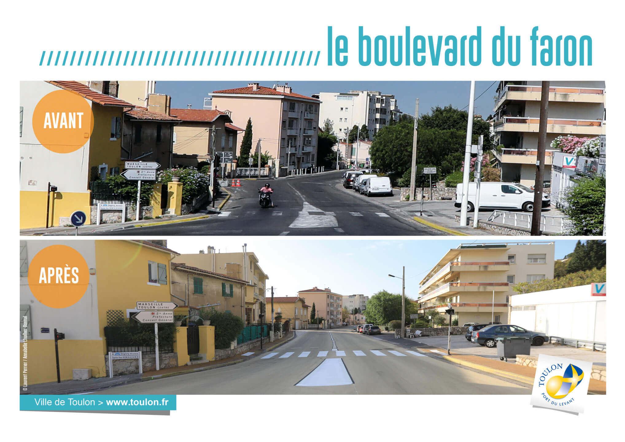 Le boulevard du faron