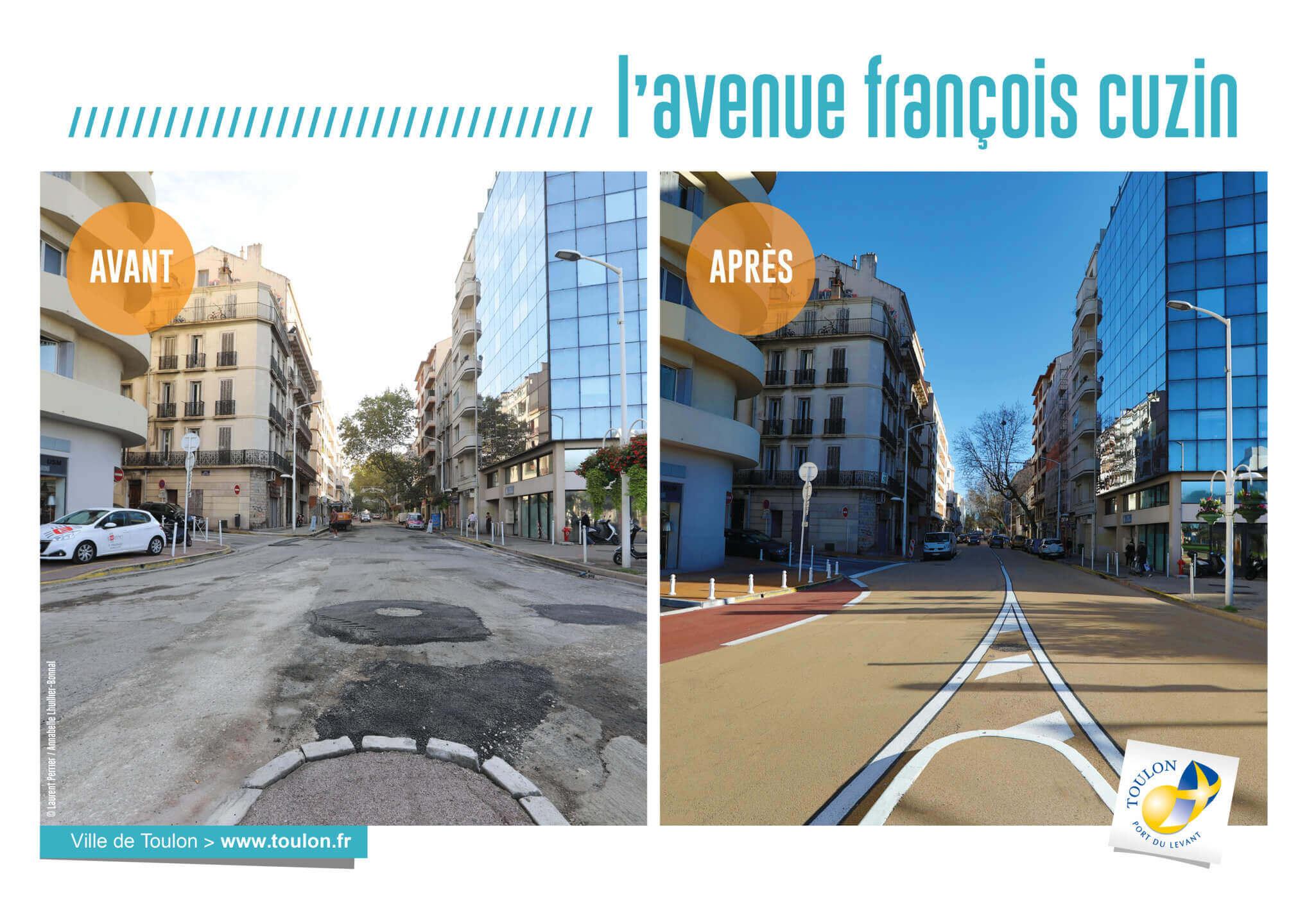 L'avenue françois cuzin