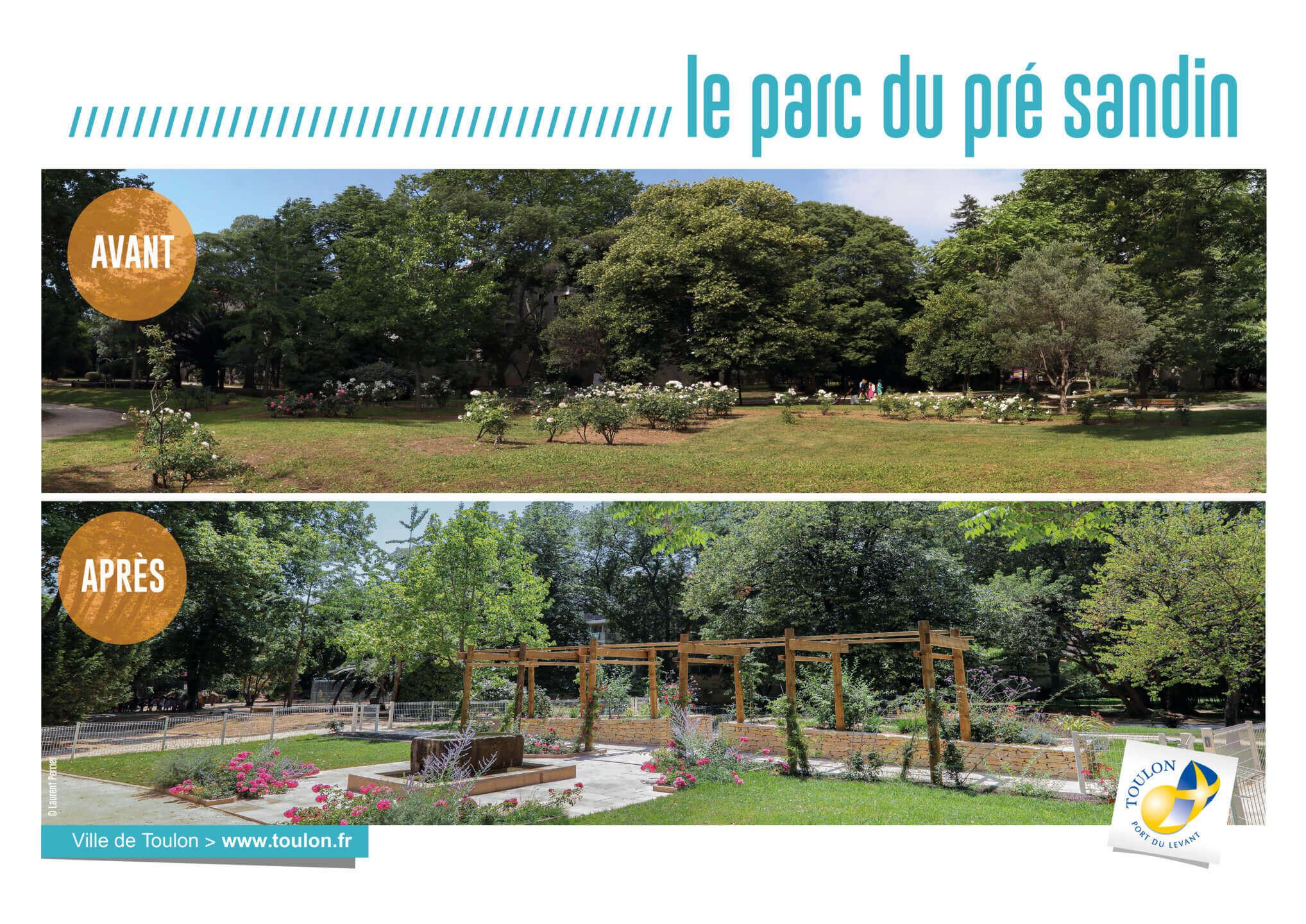 Le parc du pré sandin
