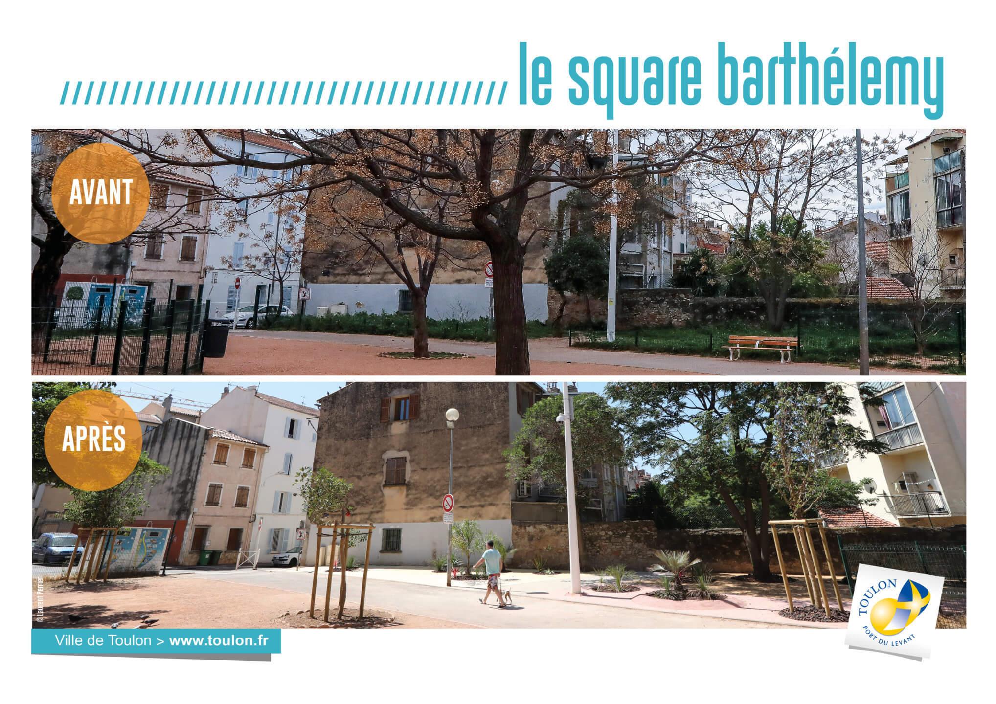 Le square barthélémy