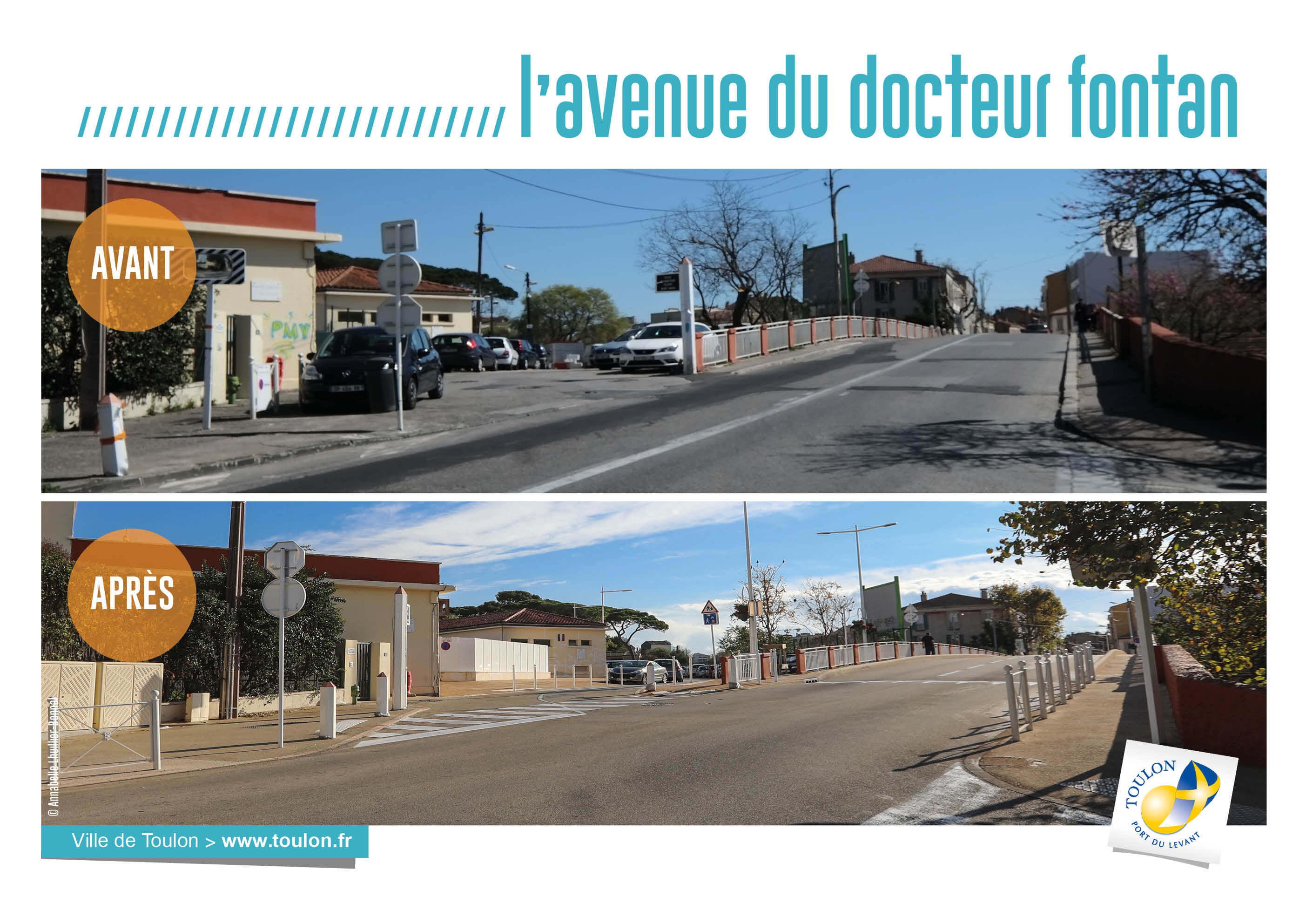 L'avenue du docteur fontan