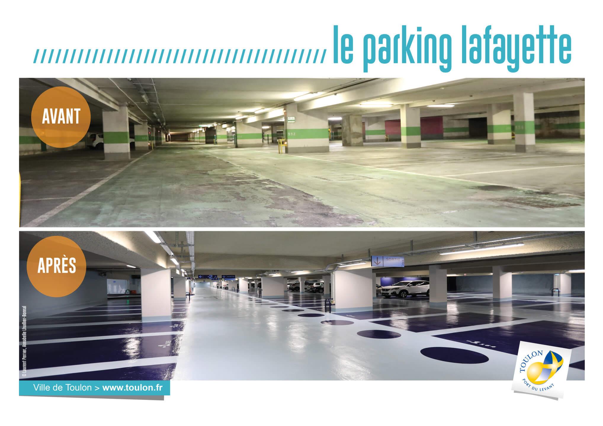 Le parking lafayette