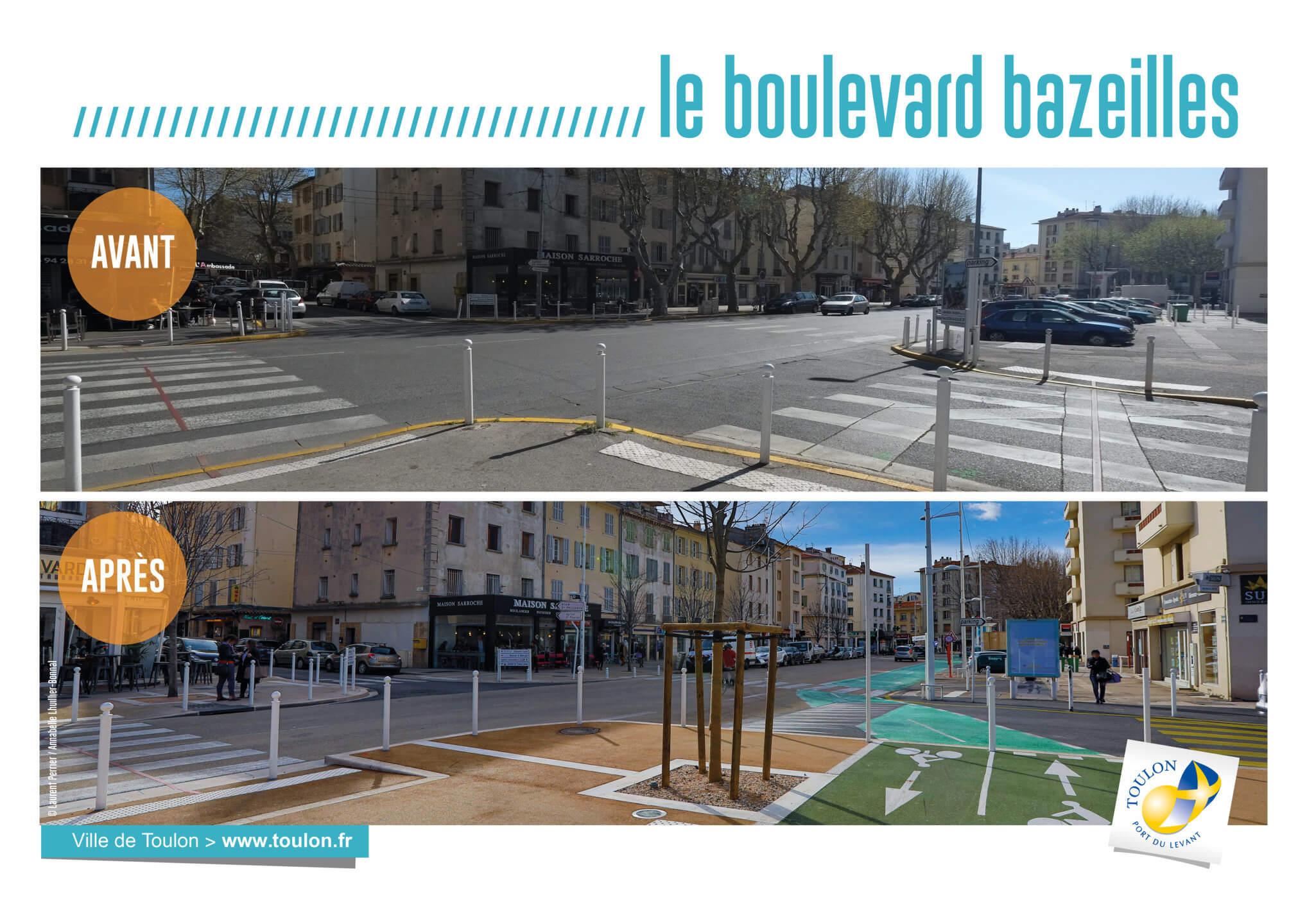 Le boulevard bazeilles
