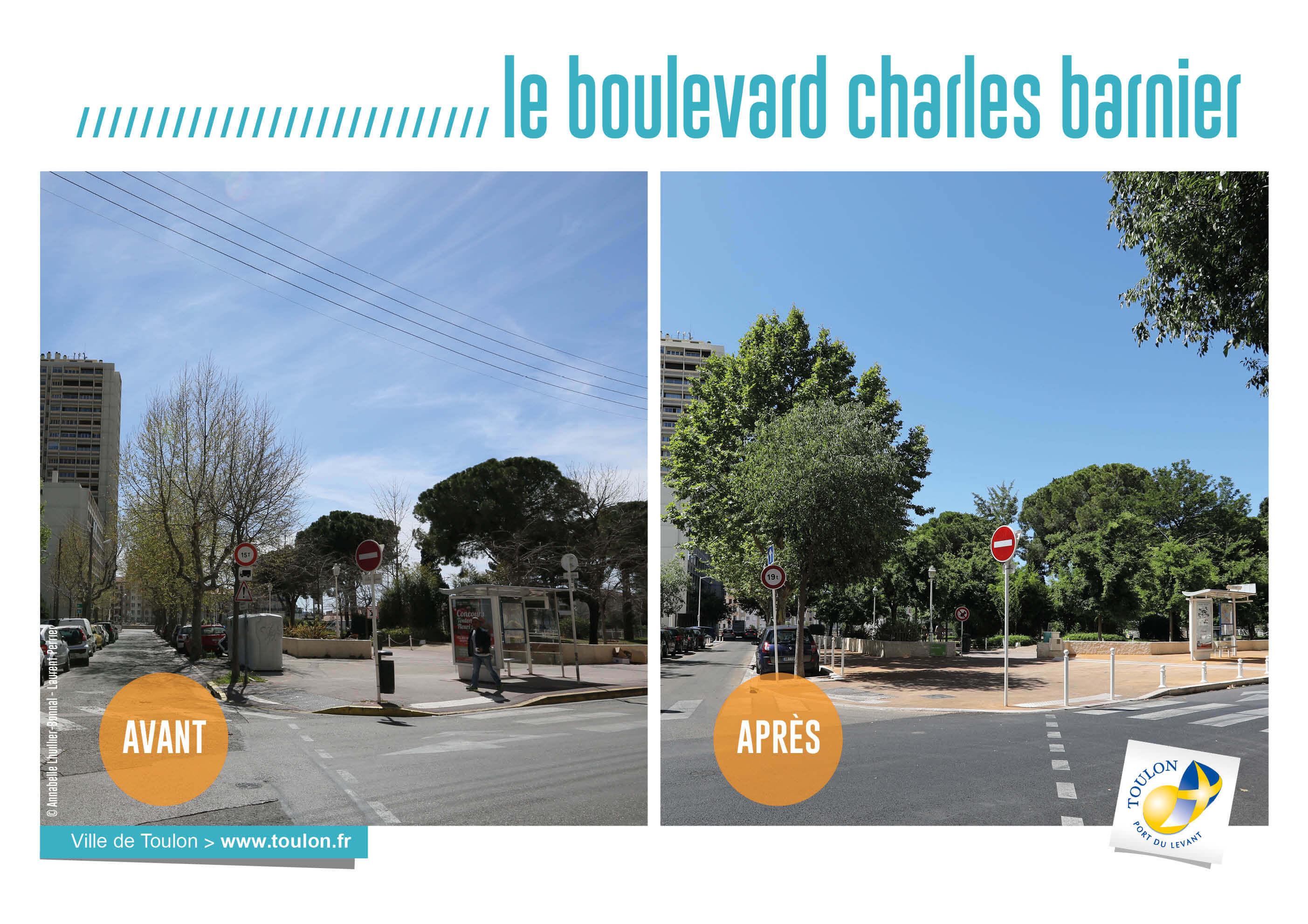 Le boulevard charles barnier