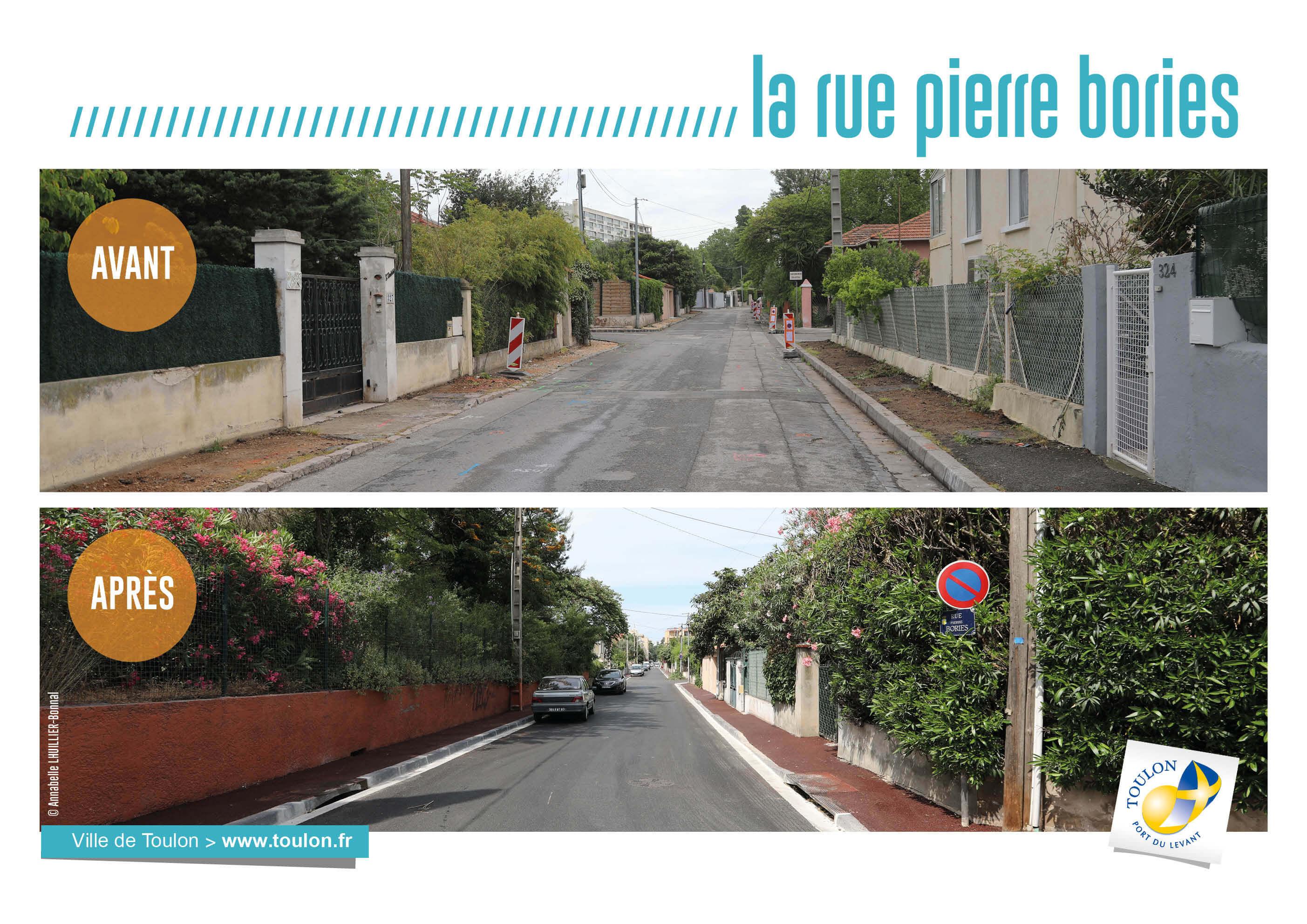 La rue pierre bories