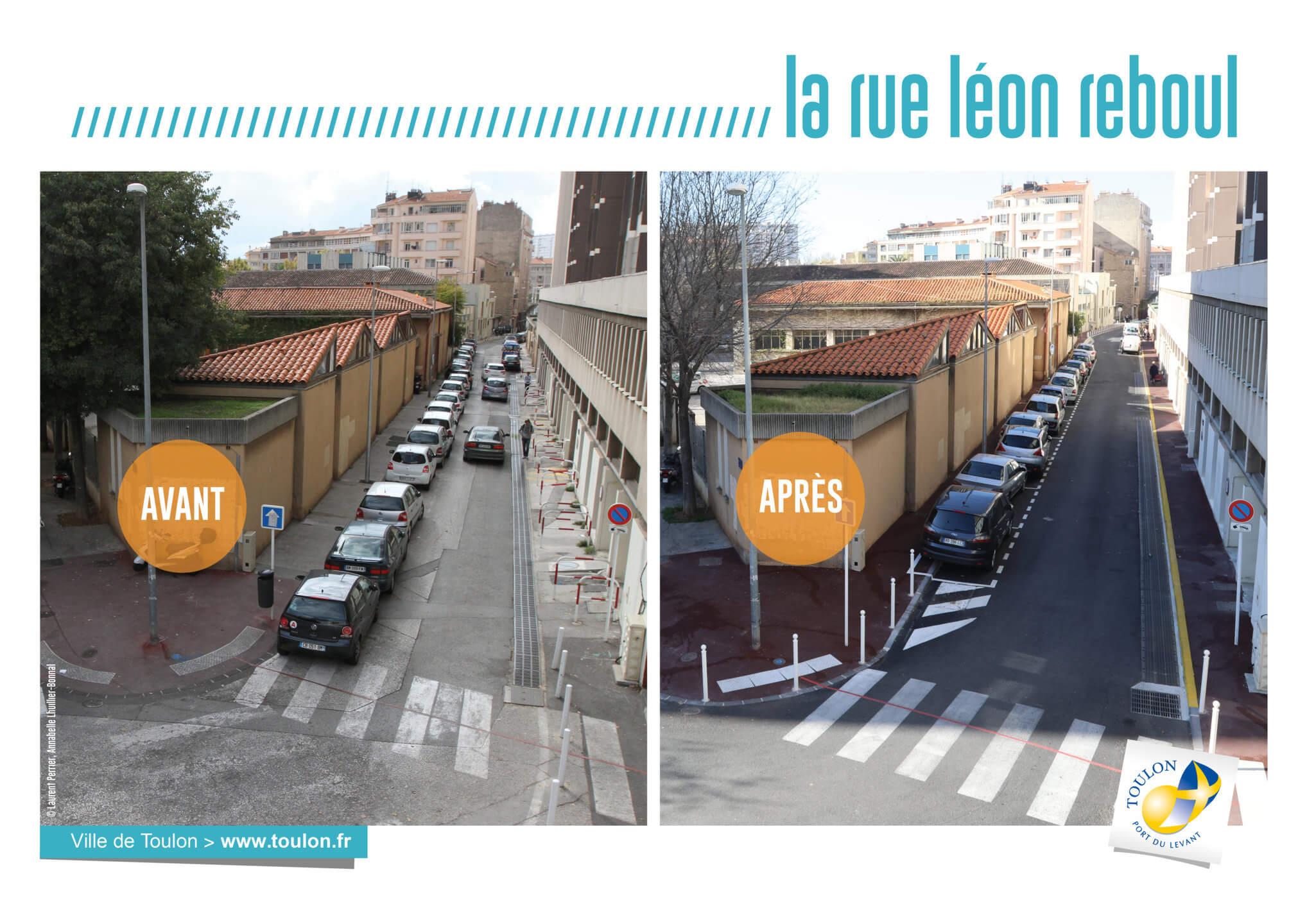 La rue léon reboul