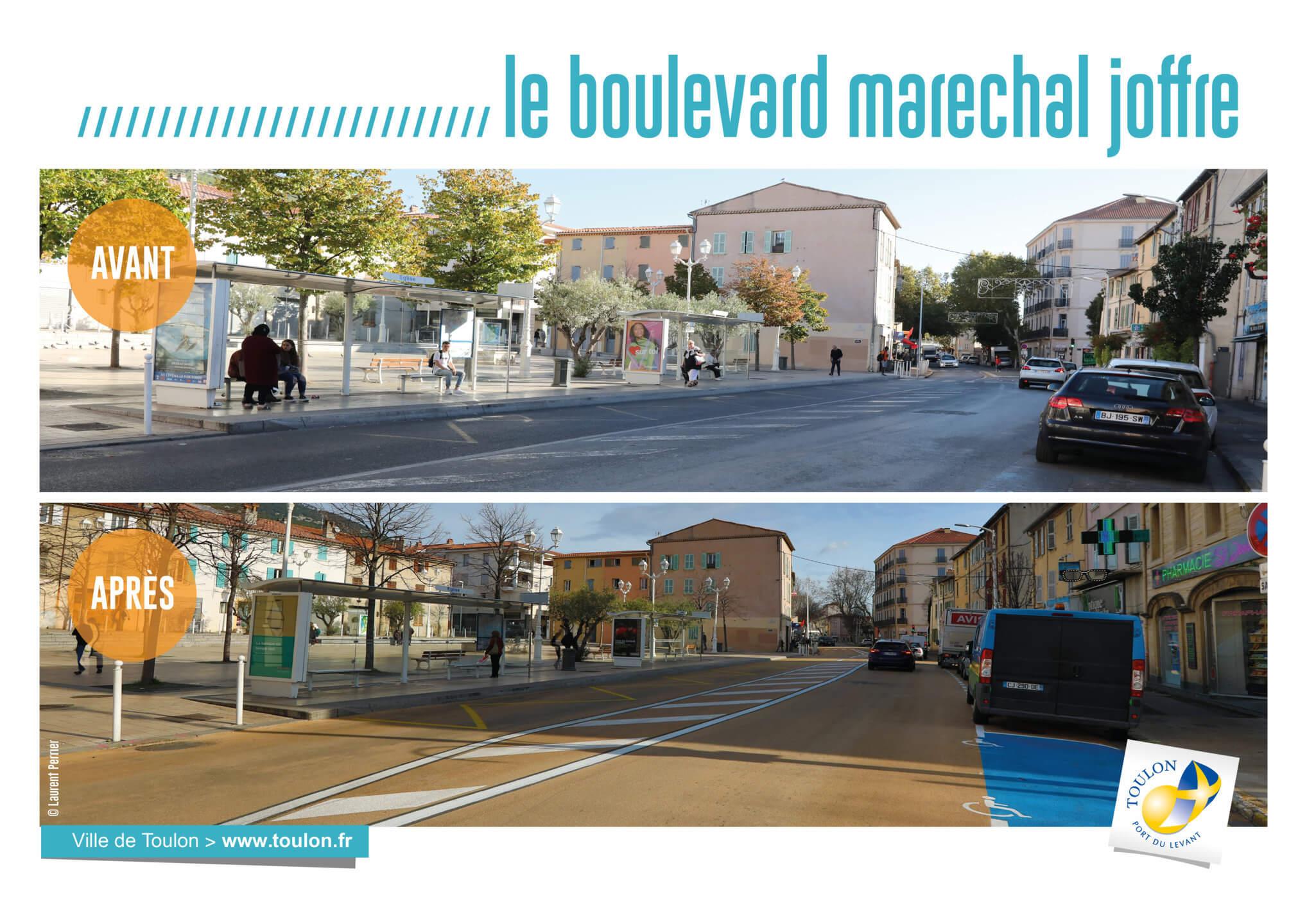 Le boulevard maréchal joffre