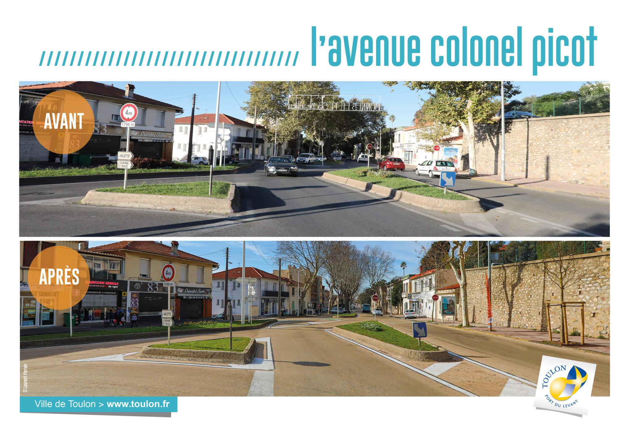L'avenue colonel picot