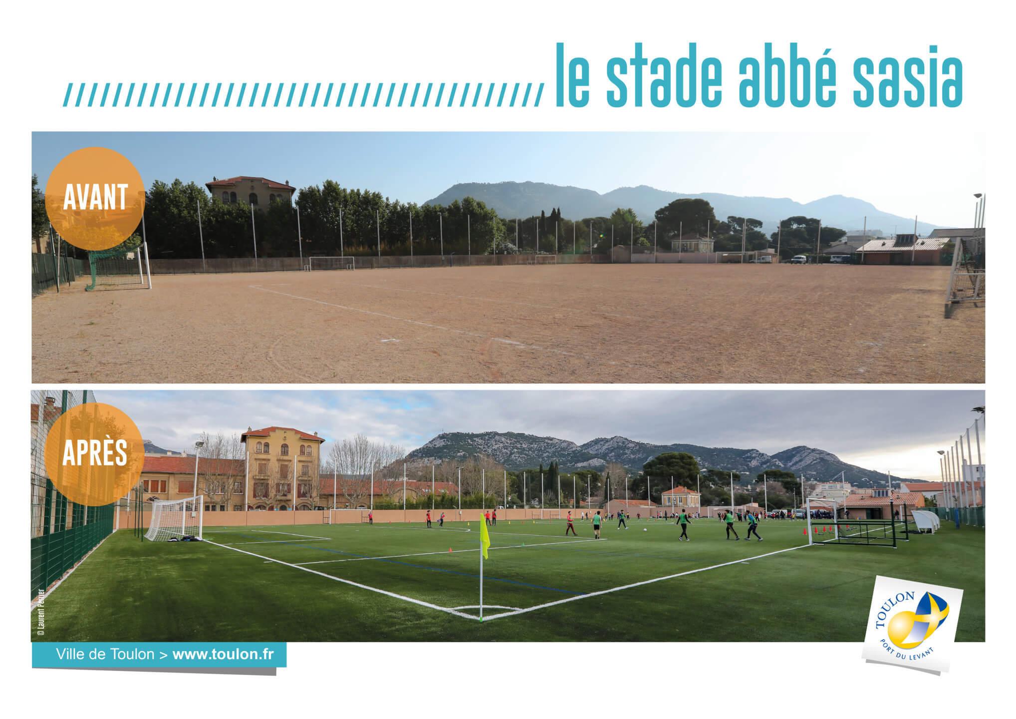 Le stade abbé sasia
