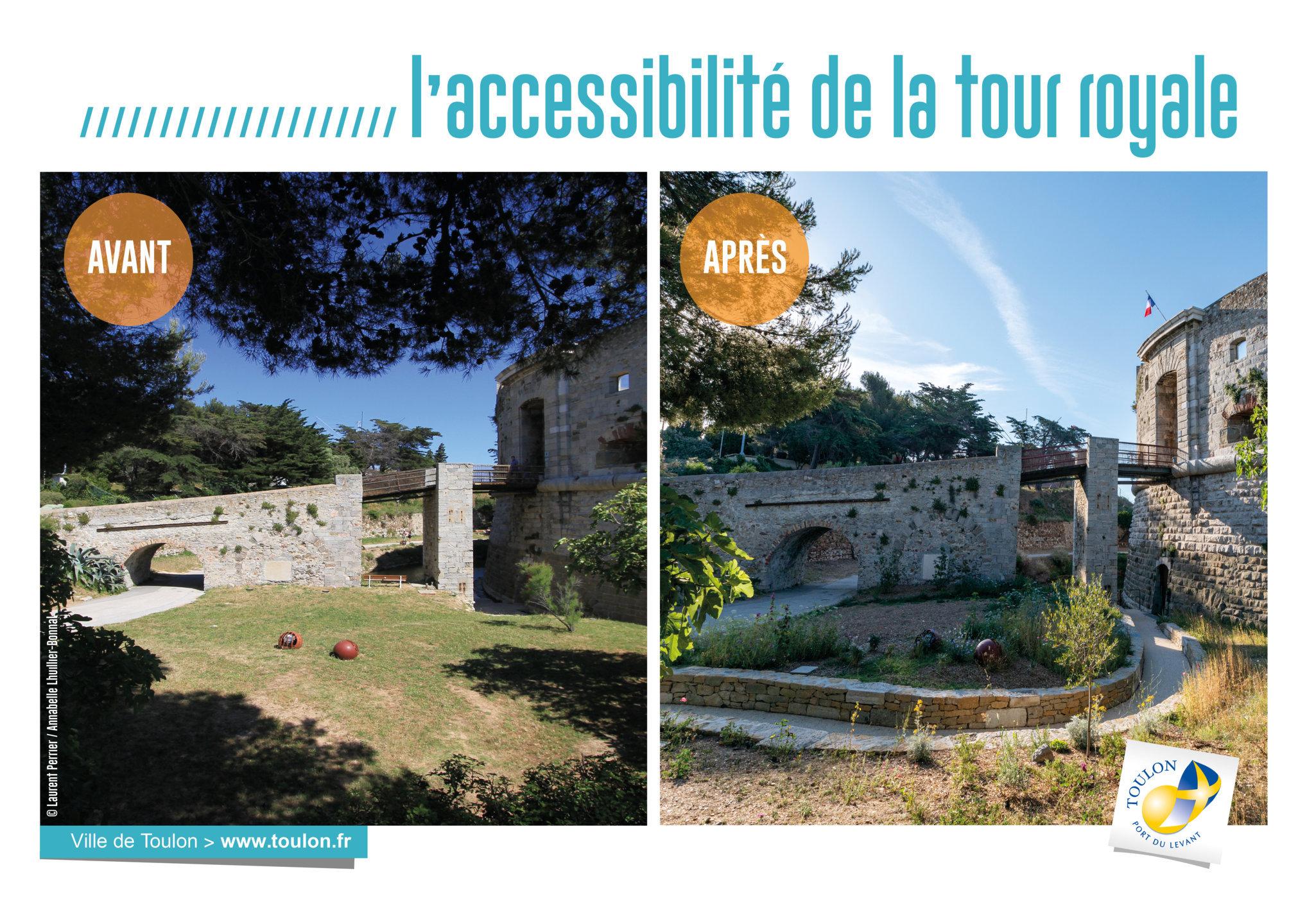 L'accessibilité de la tour royale