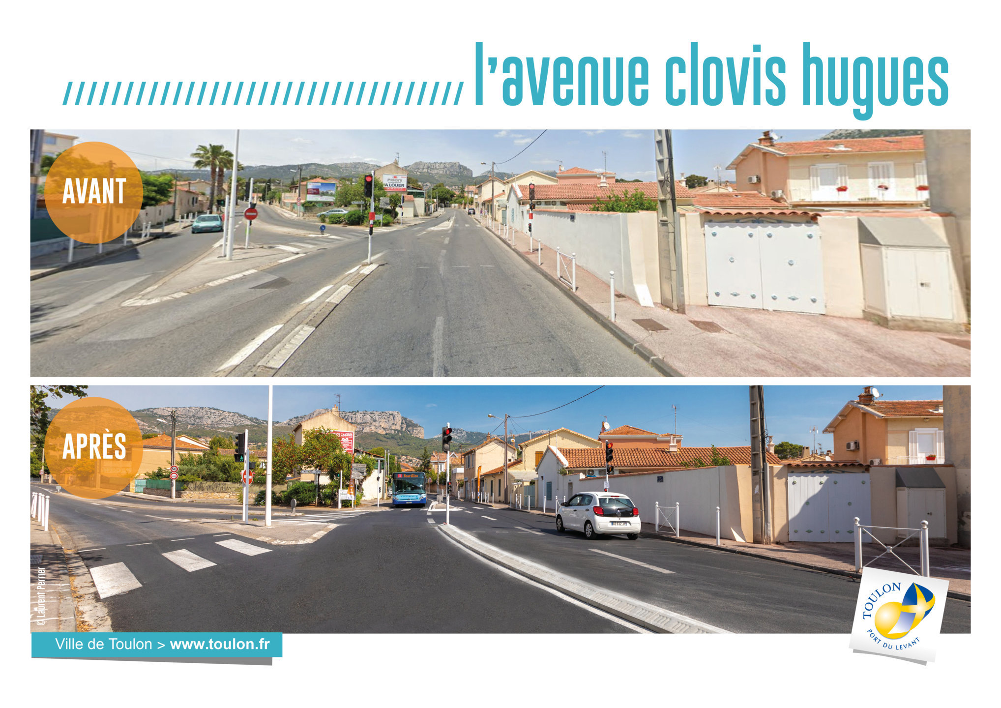 L'avenue Clovis Hugues