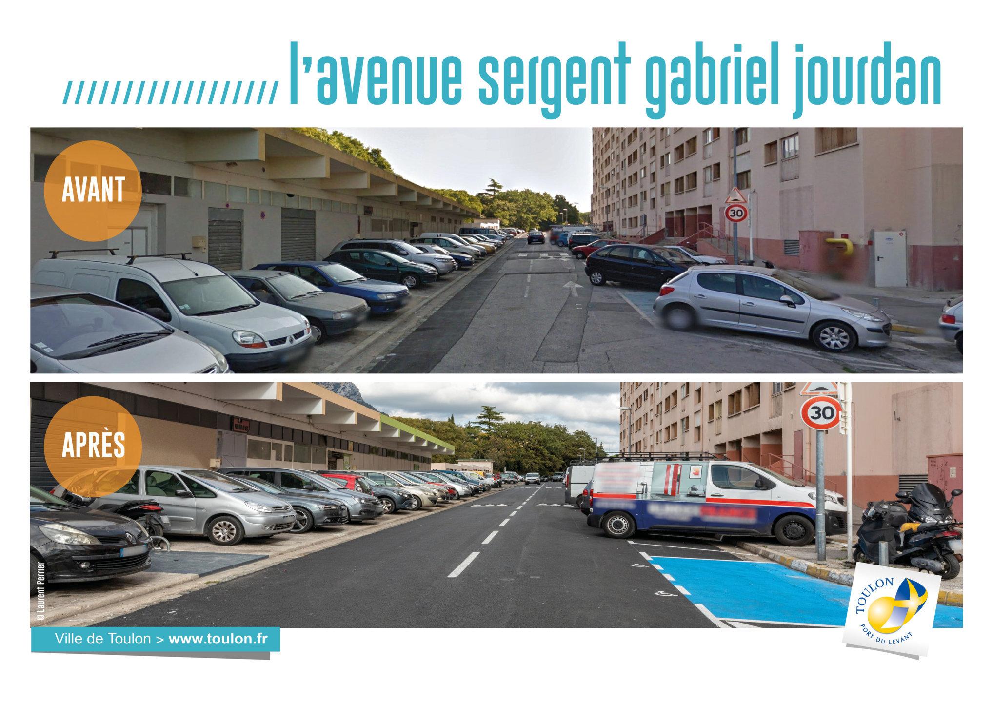 L'Avenue sergent Gabriel Jourdan