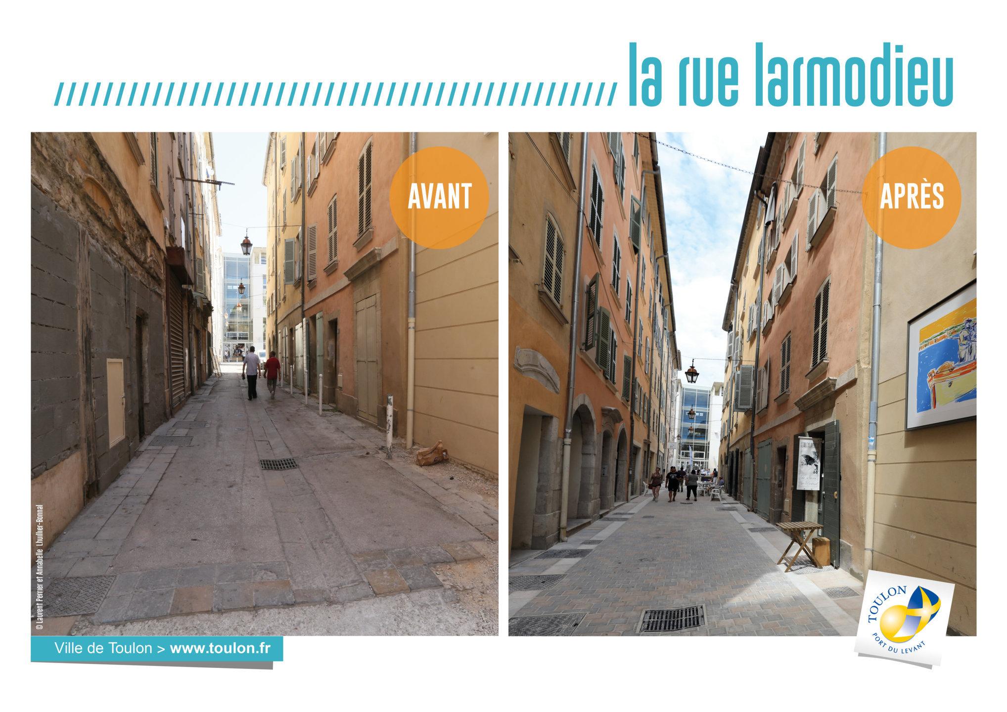 La rue Larmodieu