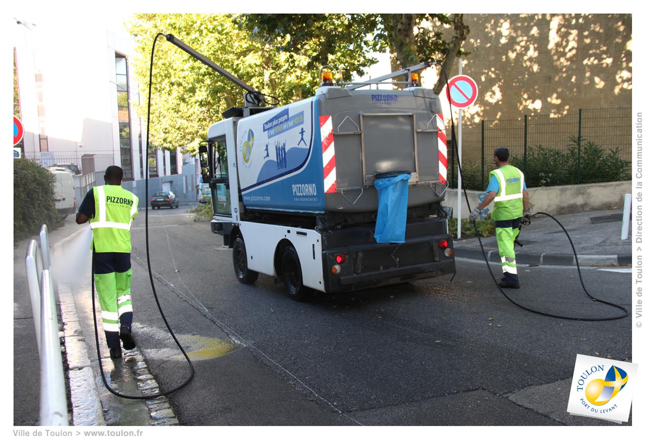 Le nettoiement  Site officiel de la ville de Toulon