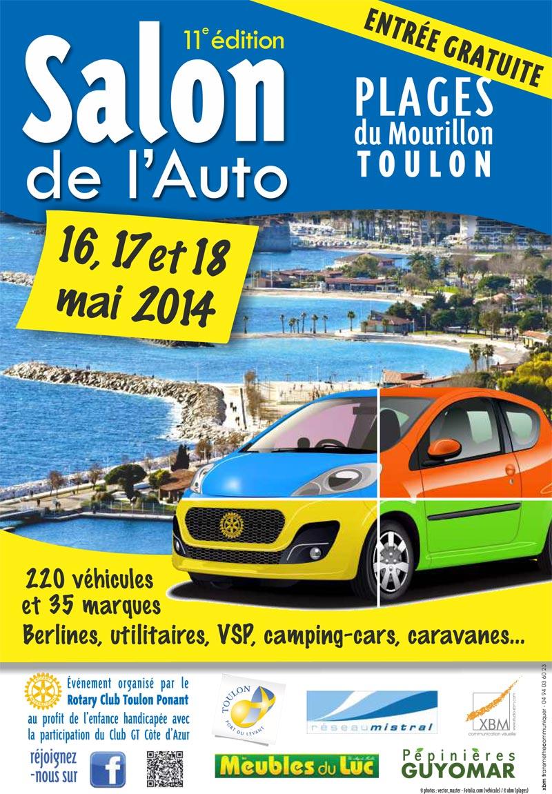 Salon de l 39 auto site officiel de la ville de toulon for Home salon toulon