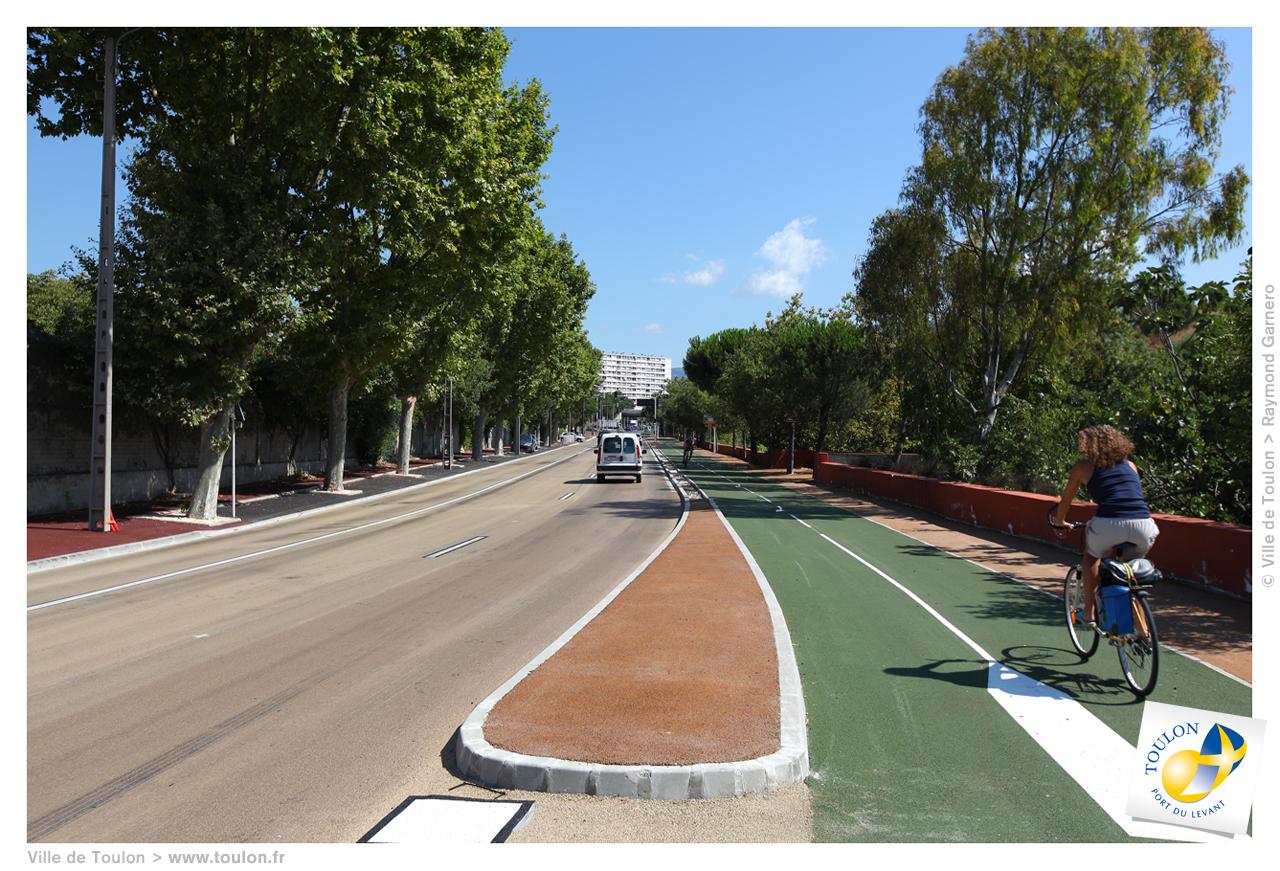 Les Pistes Cyclables Site Officiel De La Ville De Toulon
