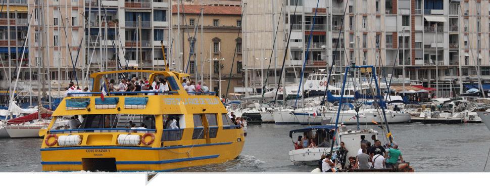 bateliers de la rade de Toulon