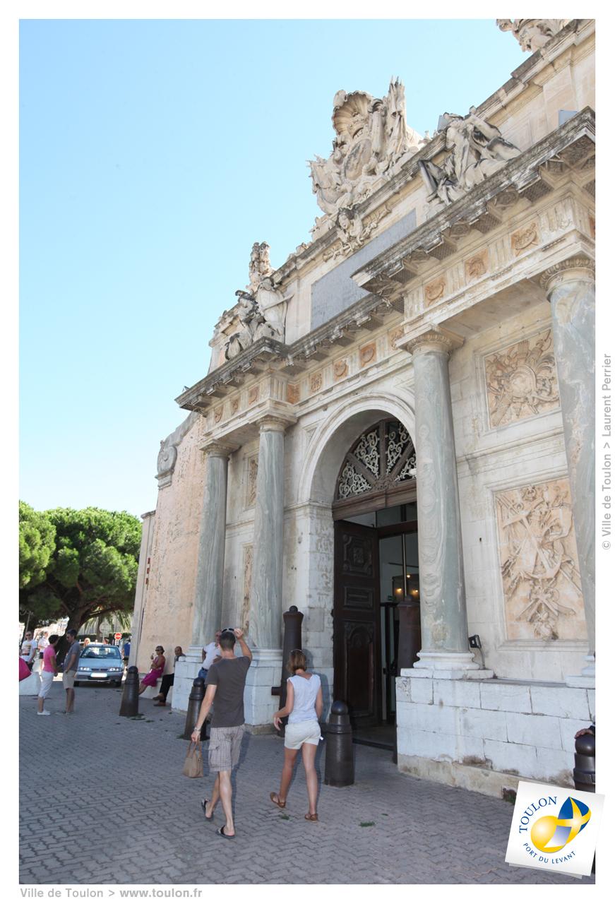 La porte de l 39 arsenal site officiel de la ville de toulon for La port news
