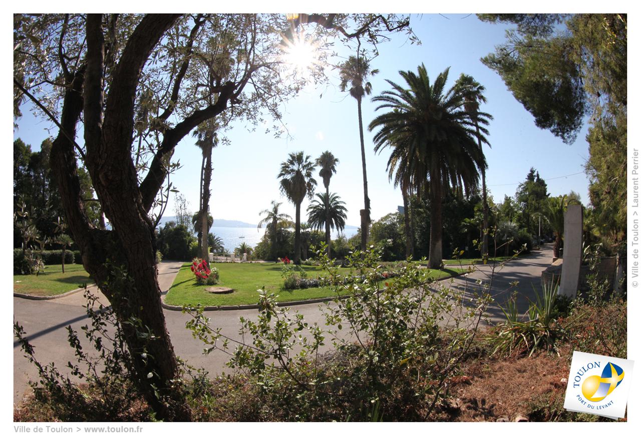 Les espaces verts toulonnais site officiel de la ville for Espace vert toulon