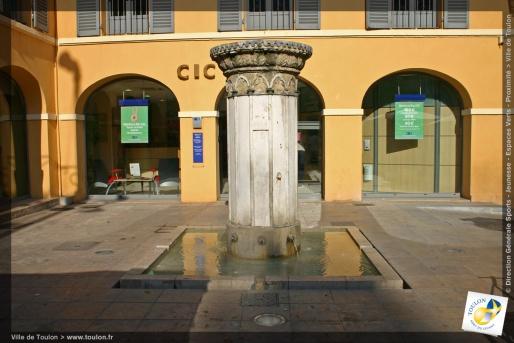 Fontaine du Tambourin