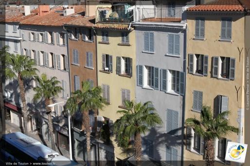 façades de Toulon
