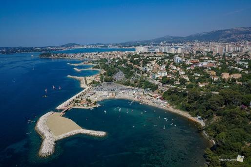 plages du Mourillon à Toulon
