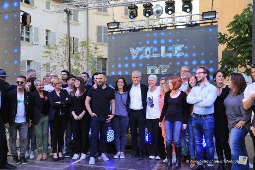 Inauguration Rue Pierre Semard Toulon
