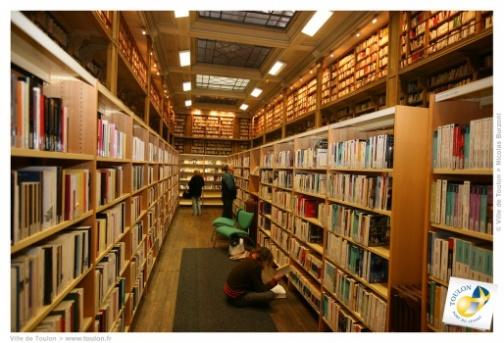 La bibliothèque du centre ville