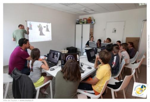 Les cyberbases de Toulon