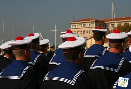 Cérémonie officielle à la Préfecture Maritime