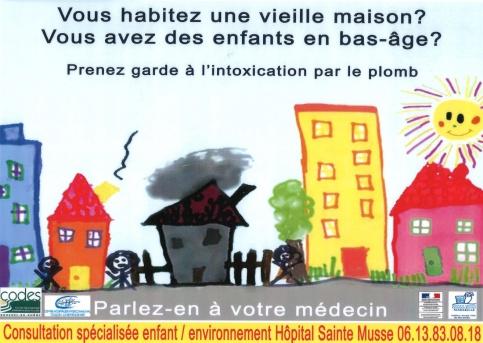 prévention contre le saturnisme à Toulon