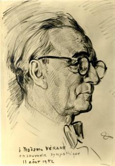 Léon Vérane par Henri Olive-Tamari