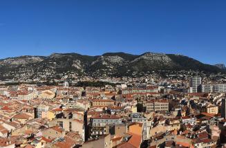 webcam de l'hôtel de ville de Toulon 2020