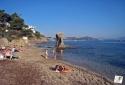 La plage de la Mitre