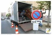 Demande d'utilisation d'aires de stationnement publiques lors de travaux ou de déménagements